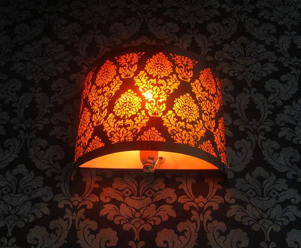 蚀刻壁灯灯罩